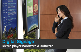 digital signage media player hardware and software